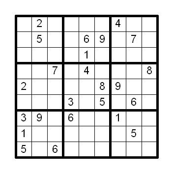 数独ナンプレパズル問題20161124