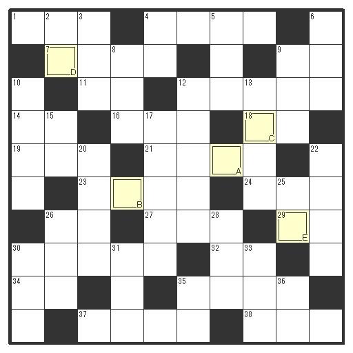 じめっとした #梅雨 を吹き飛ばせ!皆大好き #クロスワードパズル 10マス10マス